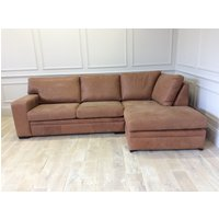 Product photograph showing Romeo 3 Seater Chaise Rhf