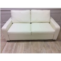 Product photograph showing Sandhurst 3str Sofa In Winchester White