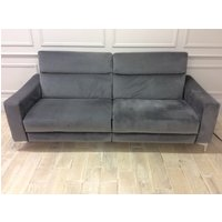 Product photograph showing Orlando 3str Sofa With Electric Recliners