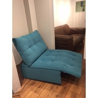 Product photograph showing Lola Double Armless Unit With Electric Recliner