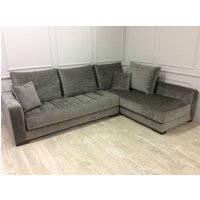 Product photograph showing Morellia Modular 4x2 Right Sided Corner Sofa In Pascal 86