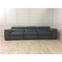 Fabio Electric Recliner Sofa in Italian 10BI Leather