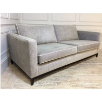 Product photograph showing Darwin Large Fabric Sofa In Habitat Cloud