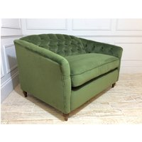 Product photograph showing Payton Loveseat Fabric Sofa In Juniper
