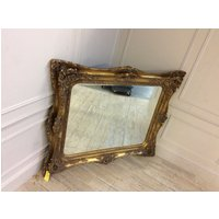 Golden Painted Mirror