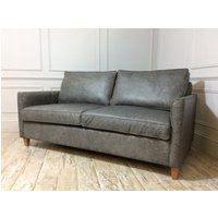 Product photograph showing Hayes 3 5 Seater Sofa Bed In Fossil