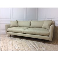 Product photograph showing Kelston Large Sofa In Wheatgrass