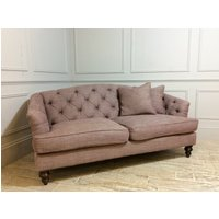 Product photograph showing Paisley Petit Sofa In Plum