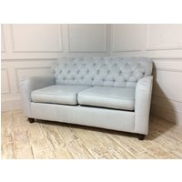 Product photograph showing Bakewell 2 Seater Fabric Sofa Bed - Mist