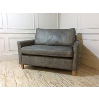 Product photograph showing Hayes Loveseat Sofa In Fossil