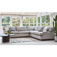 Product photograph showing Helston 2 X 2 Seater Corner Sofa Bed