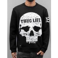 Thug Life Männer Pullover Getosthug in schwarz | bei BURNER.DE