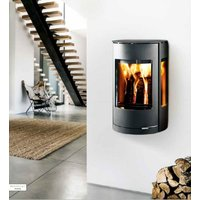 Westfire Uniq 37 Wall Hung Defra Approved Wood Burning Stove