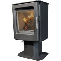 Mendip Ashcott Pedestal Wood Burning Defra Stove