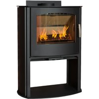 Mendip Churchill 10 Mutli Fuel Convection Stove with Logstore