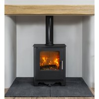 Mendip Loxton 5 SE Defra Approved Wood Burning   Multi Fuel Stove