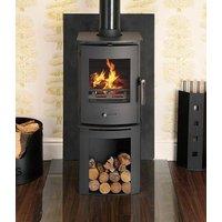Newbourne 35FS 200mm Log Store Eco Design Multifuel DEFRA Stove