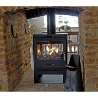 Bohemia 60 Cube Double Sided Stove Low Stand