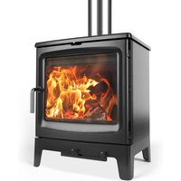 Saltfire Bignut 5 Wood Burning   Multi Fuel Eco Design Stove