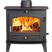 Avalon Slimline 5 Defra Approved Woodburning   Multifuel