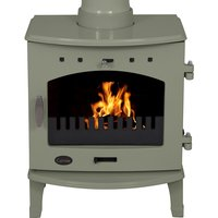 Carron Sage Green 4 7kW Multifuel DEFRA Approved Stove