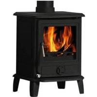 Cast Tec Puma 5 Wood Burning   Multi Fuel Stove
