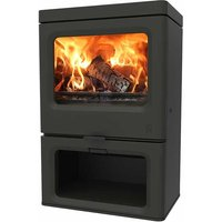 Charnwood Skye 7 Eco Design Ready Stove with Log Store