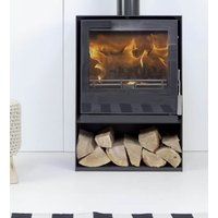 Mendip Christon 550 Eco Design Ready Wood Burning Stove with Logstore
