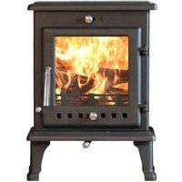 Ekol Crystal 5kW Wood Burning   Multi Fuel DEFRA Approved Stove