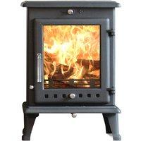 Ekol Crystal 8kW Wood Burning   Multi Fuel DEFRA Approved Stove