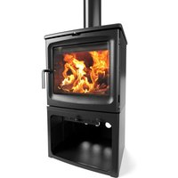 Saltfire Bignut 5 Tall Wood Burning   Multi Fuel Eco Design Stove
