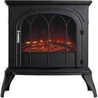Eko Fires 1250 LED Black Electric Stove