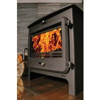 Ekol Clarity 12kW Wood Burning   Multifuel DEFRA Approved Stove