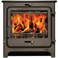 Ekol Clarity 30 DEFRA Approved Wood Burning   Multi Fuel Boiler Stove