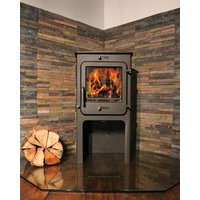Ekol Clarity High 8kW Wood Burning   Multi Fuel DEFRA Approved Stove