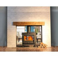 Ekol Clarity DS 14kW Wood Burning   Multi Fuel DEFRA Approved Stove