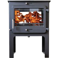 Ekol Clarity DS High 14kW  Wood Burning   Multi Fuel DEFRA Approved Stove