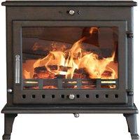 Ekol Crystal 12kW Wood Burning   Multi Fuel DEFRA Approved Stove