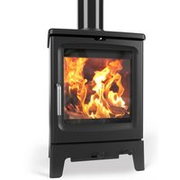 Saltfire Peanut 5 Wood Burning   Multi Fuel Eco Design Stove