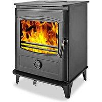 Graphite 10 Wood Burning   Multi Fuel Stove