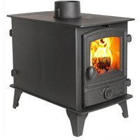 Hunter Hawk 4 Double Sided  Double Depth Multifuel Stove