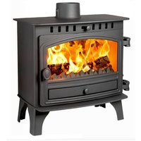 Hunter Herald 8 Slimline DEFRA Approved Multi Fuel Stove