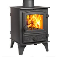 Hunter Hawk 4 Double Sided  Single Depth Wood Burning Stove