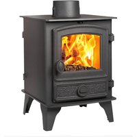 Hunter Hawk 4 Double Sided  Single Depth Multifuel Stove