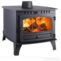 Hunter Herald 14 Double Sided  Double Depth Wood Burning Stove