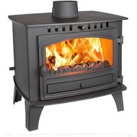 Hunter Herald 14 Double Sided  Single Depth Multifuel Stove