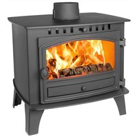 Hunter Herald 14 Double Sided  Single Depth Wood Burning Stove