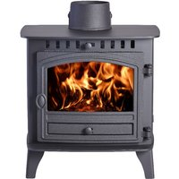 Hunter Herald 6 Double Sided  Double Depth Wood Burning Stove