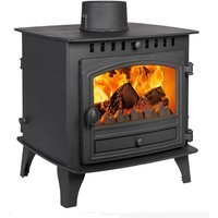Hunter Herald 6 Double Sided  Single Depth Multifuel Stove