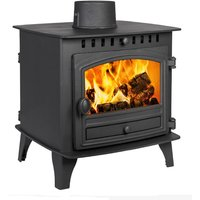 Hunter Herald 6 Double Sided  Single Depth Wood Stove